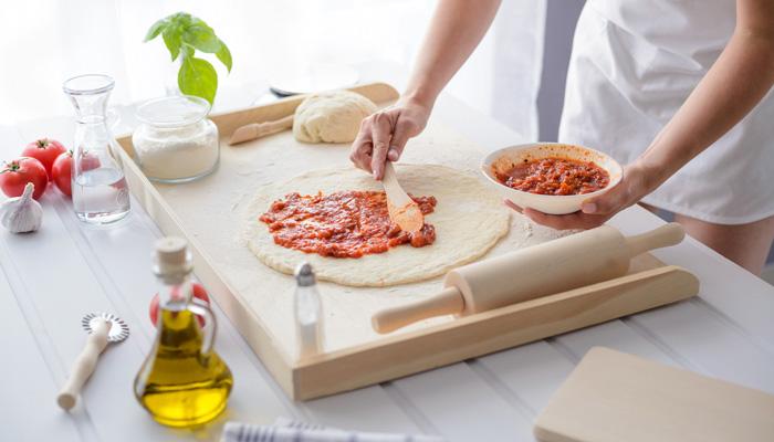 Preparer une pizza