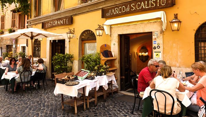 Terrasse pizzeria